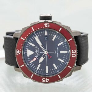 Alpina Seastrong Diver GMT Date Quartz Men's Watch Ref. AL-247LGBRG4TV6