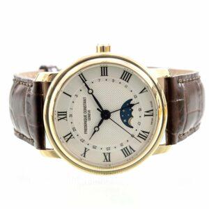 Frederique Constant Classics Moonphase Date Automatic Watch ref. FC-330MC4P5